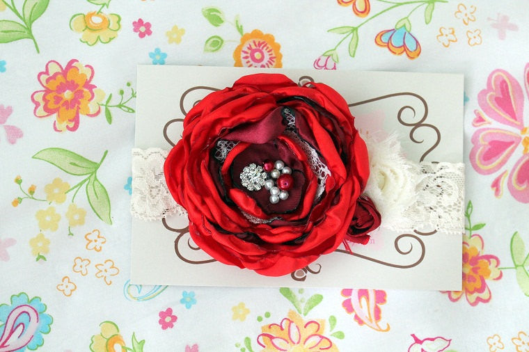 Christmas Headbands For Babies.Christmas Headband Baby Headband Red Baby Headband Newborn Headband Baby Girl Holiday Accessories Headbands Photo Prop Christmas Stocking