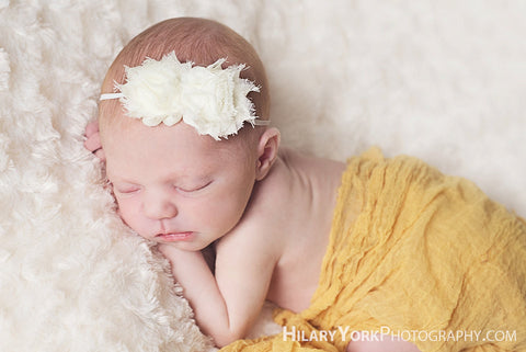 baby headband..hair accessories for baby girl shabby chic baby headband photography prop and toddler girl headband