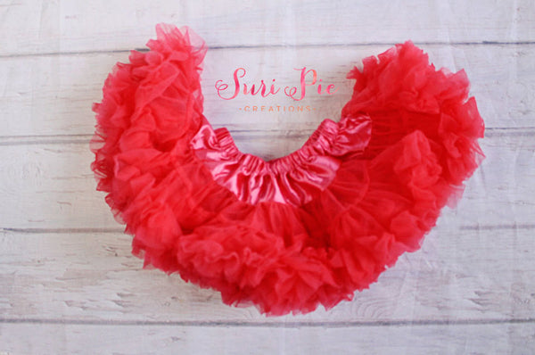 Hot Pink Petti Skirt..Flower Girl Outfit..1st Birthday Outfit..Baby's Birthday Outfit..Photography Prop..Smash the Cake..