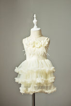 Load image into Gallery viewer, Ivory Boho Flower Girl Dress (12M-5 years)