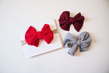 Load image into Gallery viewer, Messy Bow Nylon Headband