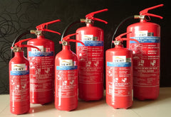 ABC Dry Powder Fire Extinguishers