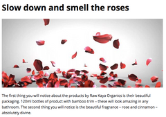 raw kaya organics prodijee magazine review