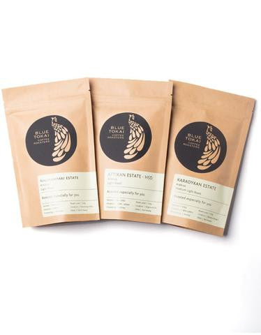 Assorted Sampler Pack- Buy Freshly Roasted Coffee Beans Online - Blue Tokai Coffee Roasters