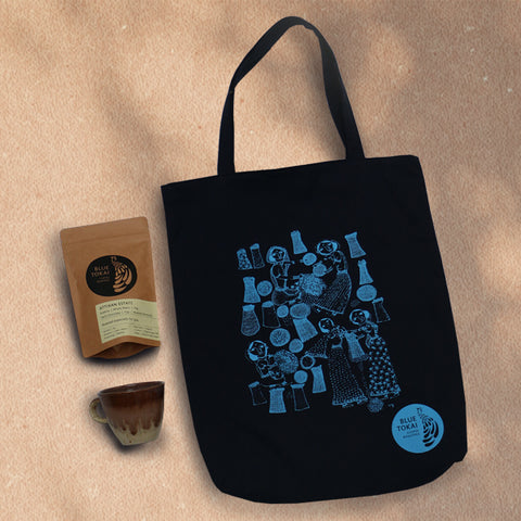 Care Package Tote Kit- Buy Freshly Roasted Coffee Beans Online - Blue Tokai Coffee Roasters