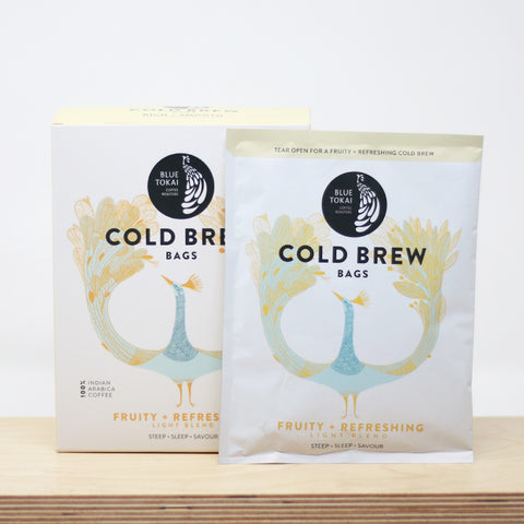 Cold Brew Light Blend- Buy Freshly Roasted Coffee Beans Online - Blue Tokai Coffee Roasters