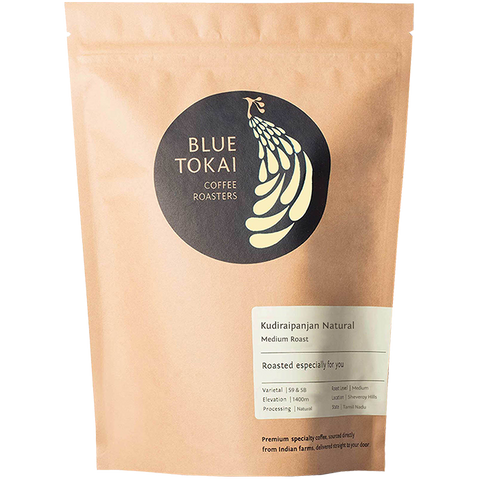 Kudiraipanjan Natural- Buy Freshly Roasted Coffee Beans Online - Blue Tokai Coffee Roasters