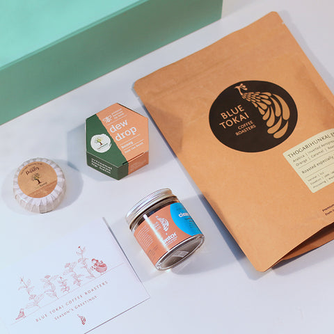 Last Forest x Switch Fix - Our Body Care Gift Set- Buy Freshly Roasted Coffee Beans Online - Blue Tokai Coffee Roasters