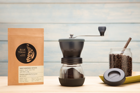 Hario Skerton Grinder- Buy Freshly Roasted Coffee Beans Online - Blue Tokai Coffee Roasters