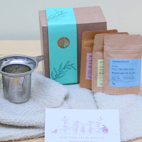 Channi Coffee Gift Set- Buy Freshly Roasted Coffee Beans Online - Blue Tokai Coffee Roasters