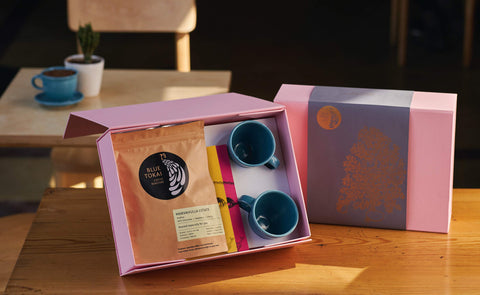 Teal Ceramic Cups Gift Box- Buy Freshly Roasted Coffee Beans Online - Blue Tokai Coffee Roasters