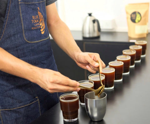 Intro to Coffee Cupping- Buy Freshly Roasted Coffee Beans Online - Blue Tokai Coffee Roasters