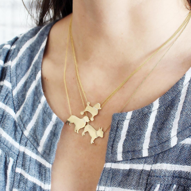 Dog Necklaces | Fine Jewelry for the Discerning Dog, Cat, and Animal Lover