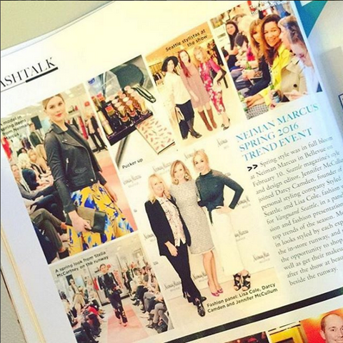 Spring Trend Event featured in Seattle Met Magazine
