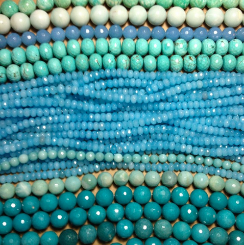 Beads provide inspiration for designer Catherine Canino.