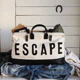 Black Escape Traveler Weekend Bag