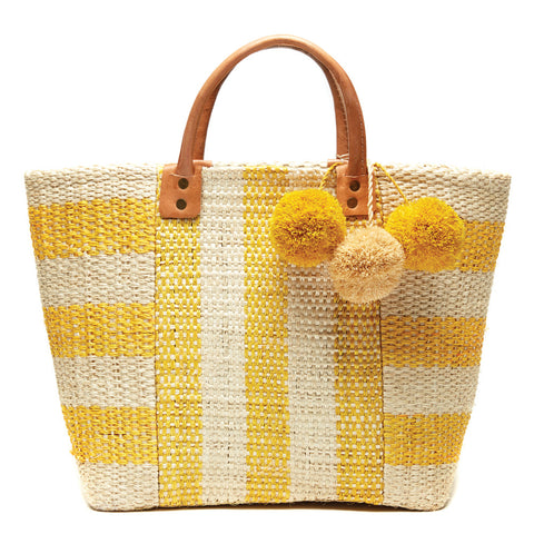 Yellow Collins Tote Bag
