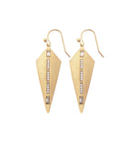 Gold Kite Earrings