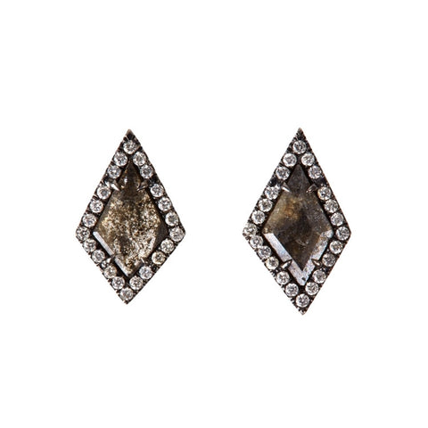 Pavé Diamond Kite Earrings