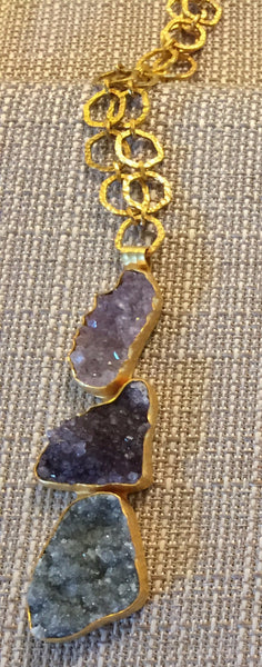 Heather Benjamin One-of-a-Kind Gemstone Pendant Necklace