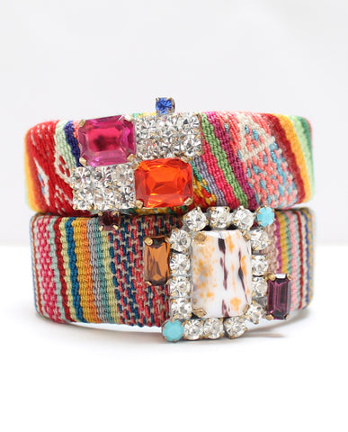 Small Friendship Cuff Bracelet