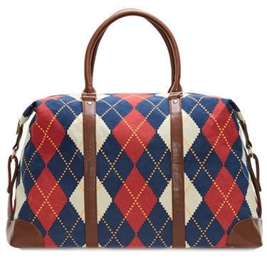 CAMPBELL ARGYLE DUFFEL BAG