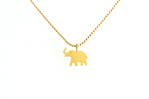 Carolina Loyola Lucky Elephant Necklace