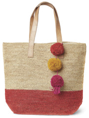 Coral Montauk Carryall Bag