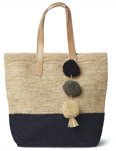 Navy Montauk Carryall Bag