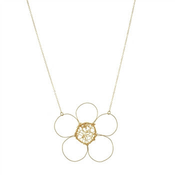 Signature Choas Flower Necklace