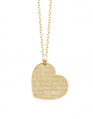 Miriam Merenfeld Heart Inspirations Necklace