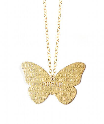 Miriam Merenfeld Butterfly Necklace