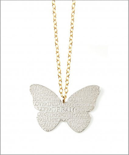 Butterfly Inspirational Necklace