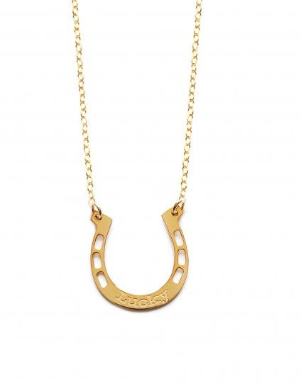 Miriam Merenfeld Lucky Horseshoe Necklace