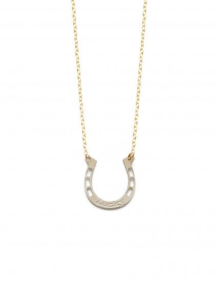 Lucky Horseshoe Inspirational Necklace
