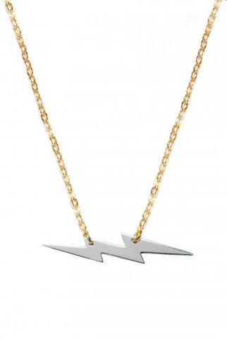 Miriam Merenfeld Mini Lightning Bolt Necklace