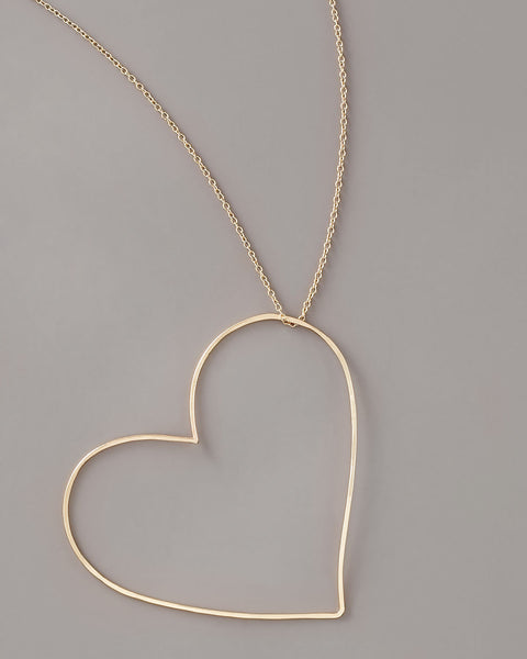 Gauge NYC Heart Pendant Necklace