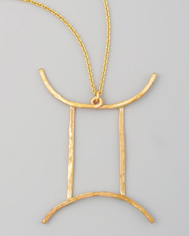 Gauge NYC Gemini Pendant Necklace