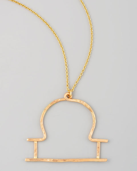 Gauge NYC Libra Pendant Necklace