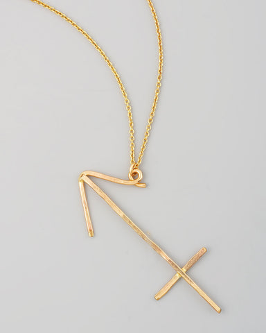 Gauge NYC Sagittarius Pendant Necklace