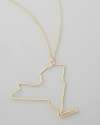 Gauge NYC New York Pendant Necklace