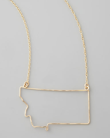 Gauge NYC Montana Pendant Necklace