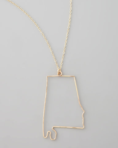 Gauge NYC Alabama Pendant Necklace