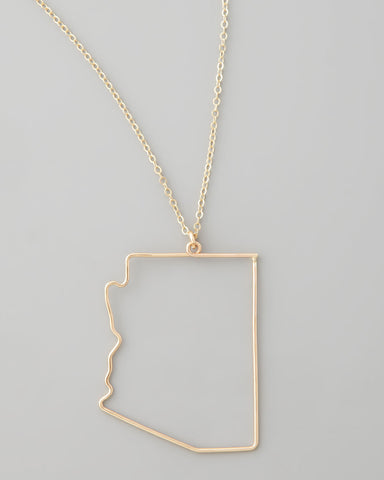 Gauge NYC Arizona Pendant Necklace