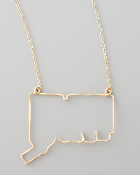 Gauge NYC Connecticut Pendant Necklace
