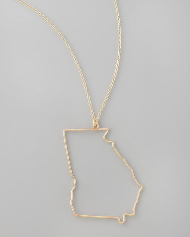 Gauge NYC Georgia Pendant Necklace