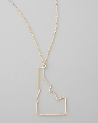 Gauge NYC Idaho Pendant Necklace