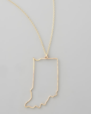 Gauge NYC Indiana Pendant Necklace