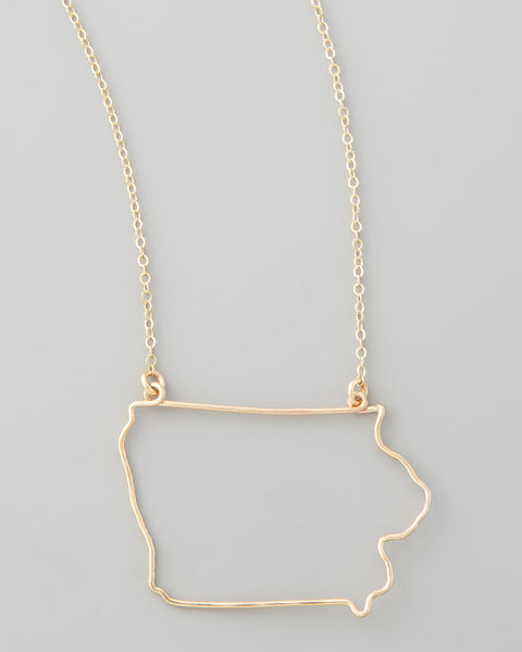 Gauge NYC Iowa Pendant Necklace