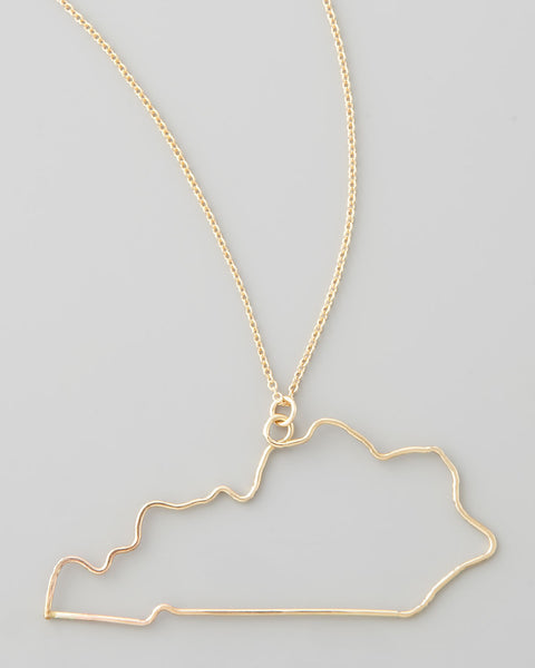 Gauge NYC Kentucky Pendant Necklace